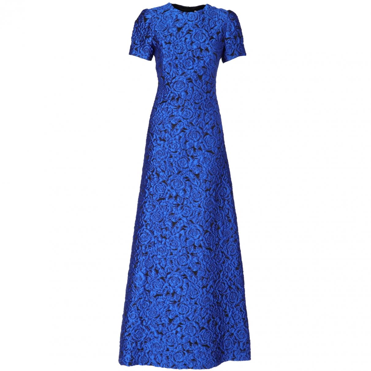 Alexander Terekhov \N Kleid in  Blau Synthetik