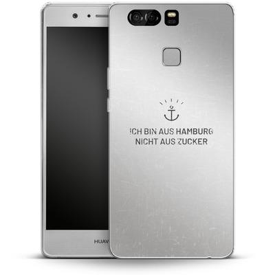 Huawei P9 Silikon Handyhuelle - Ich Bin Aus Hamburg von caseable Designs
