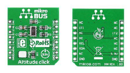 MikroElektronika MIKROE-1489, Pressure Sensor mikroBus Click Board
