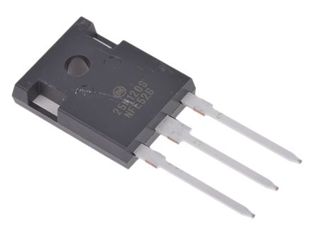 ON Semiconductor NGTB25N120SWG IGBT, 50 A 1200 V, 3-Pin TO-247 (2)