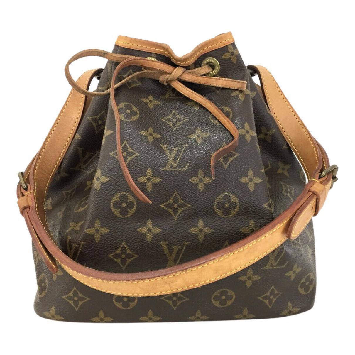 Louis Vuitton Noé Brown Cloth handbag for Women \N