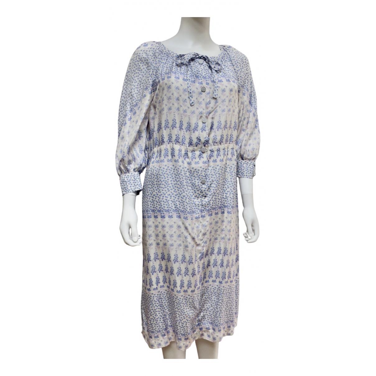 Ted Lapidus \N Kleid in  Lila Seide