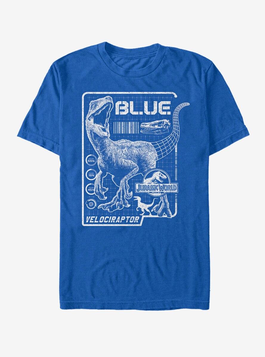 Jurassic World Blue Details T-Shirt