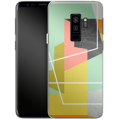 Samsung Galaxy S9 Plus Silikon Handyhuelle - Color Block II von Susana Paz