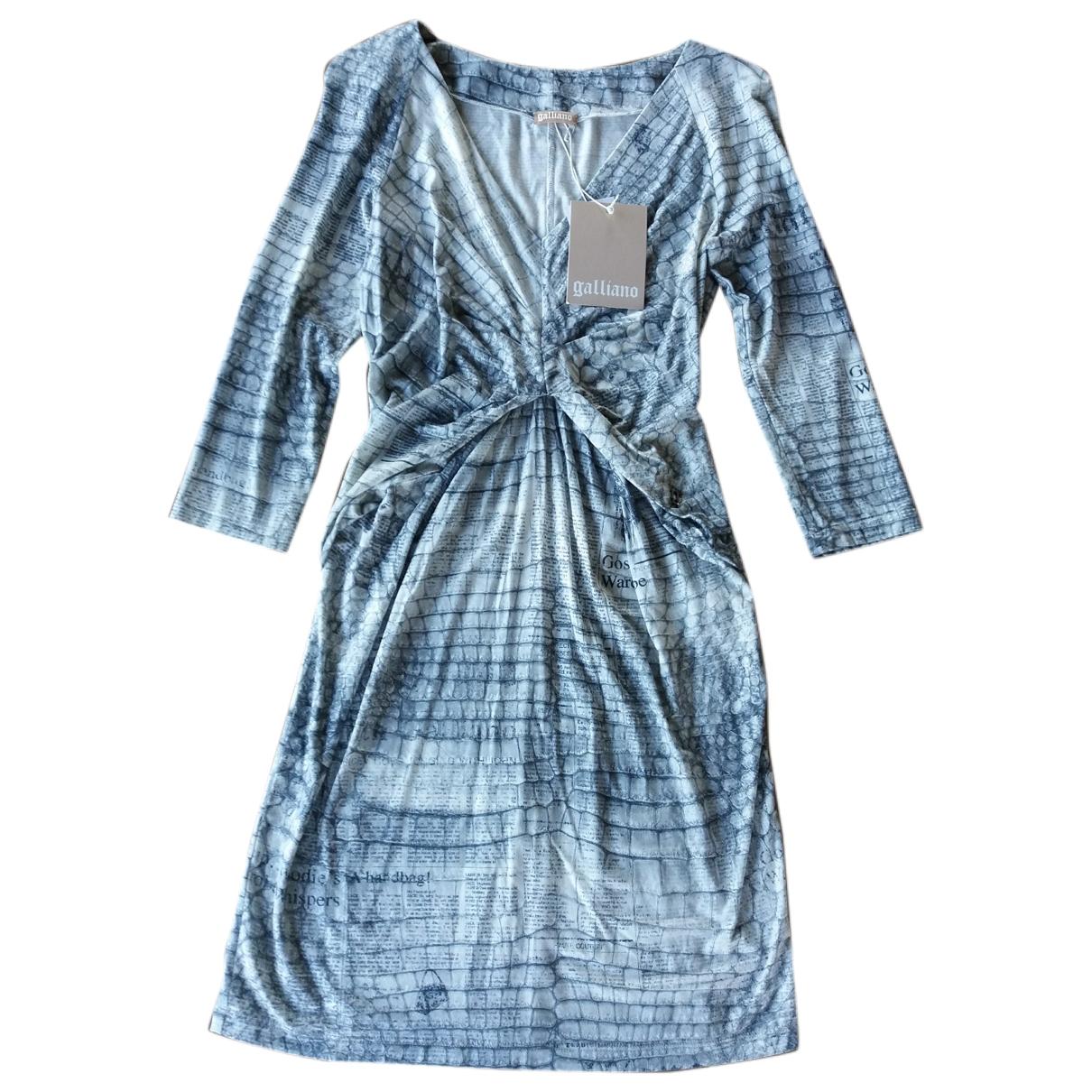 Galliano \N Kleid in Viskose