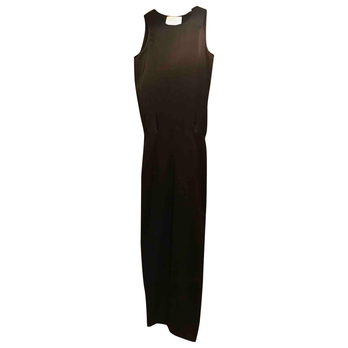 Cedric Charlier \N Kleid in  Schwarz Polyester