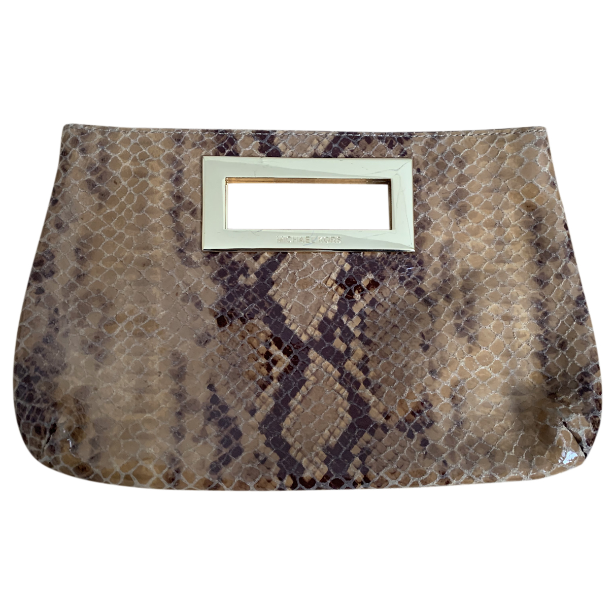 Michael Kors N Camel Leather Clutch bag for Women N