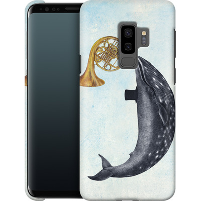 Samsung Galaxy S9 Plus Smartphone Huelle - Whale Song von Terry Fan