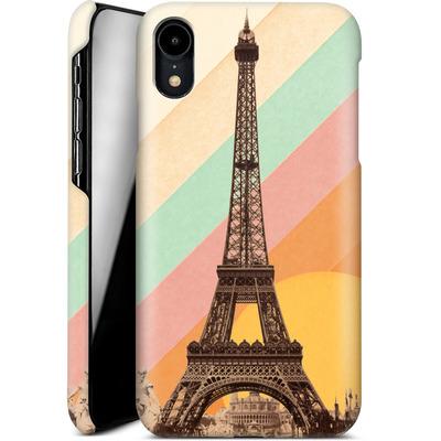 Apple iPhone XR Smartphone Huelle - Eiffel Tower Rainbow von Florent Bodart