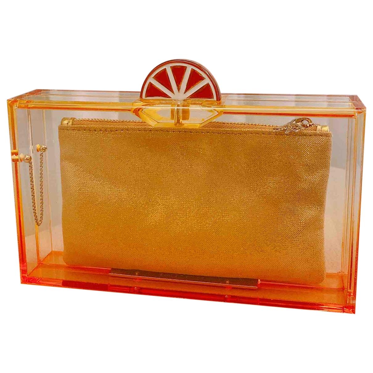 Charlotte Olympia \N Orange Clutch bag for Women \N