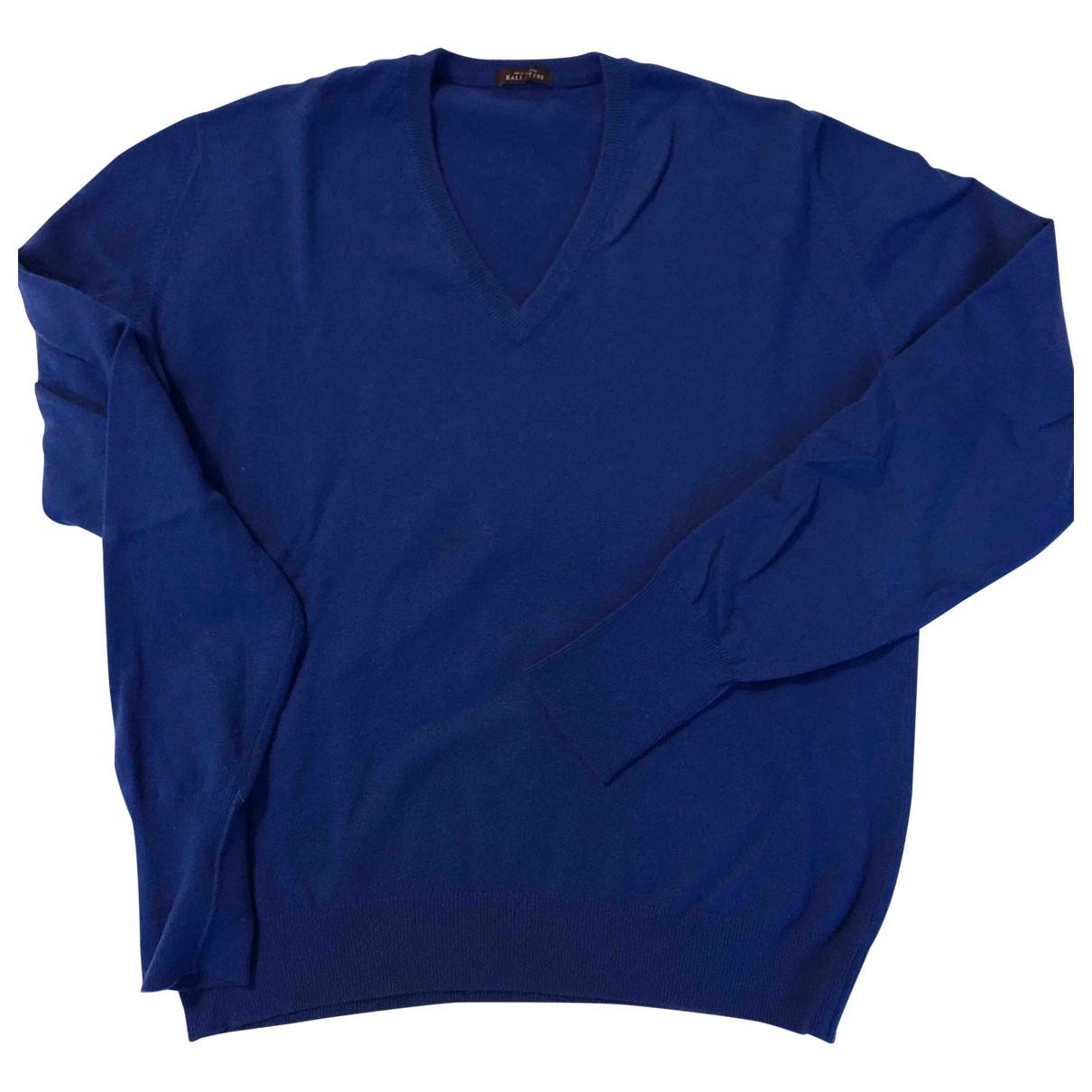 Ballantyne \N Blue Cashmere Knitwear & Sweatshirts for Men 46 IT
