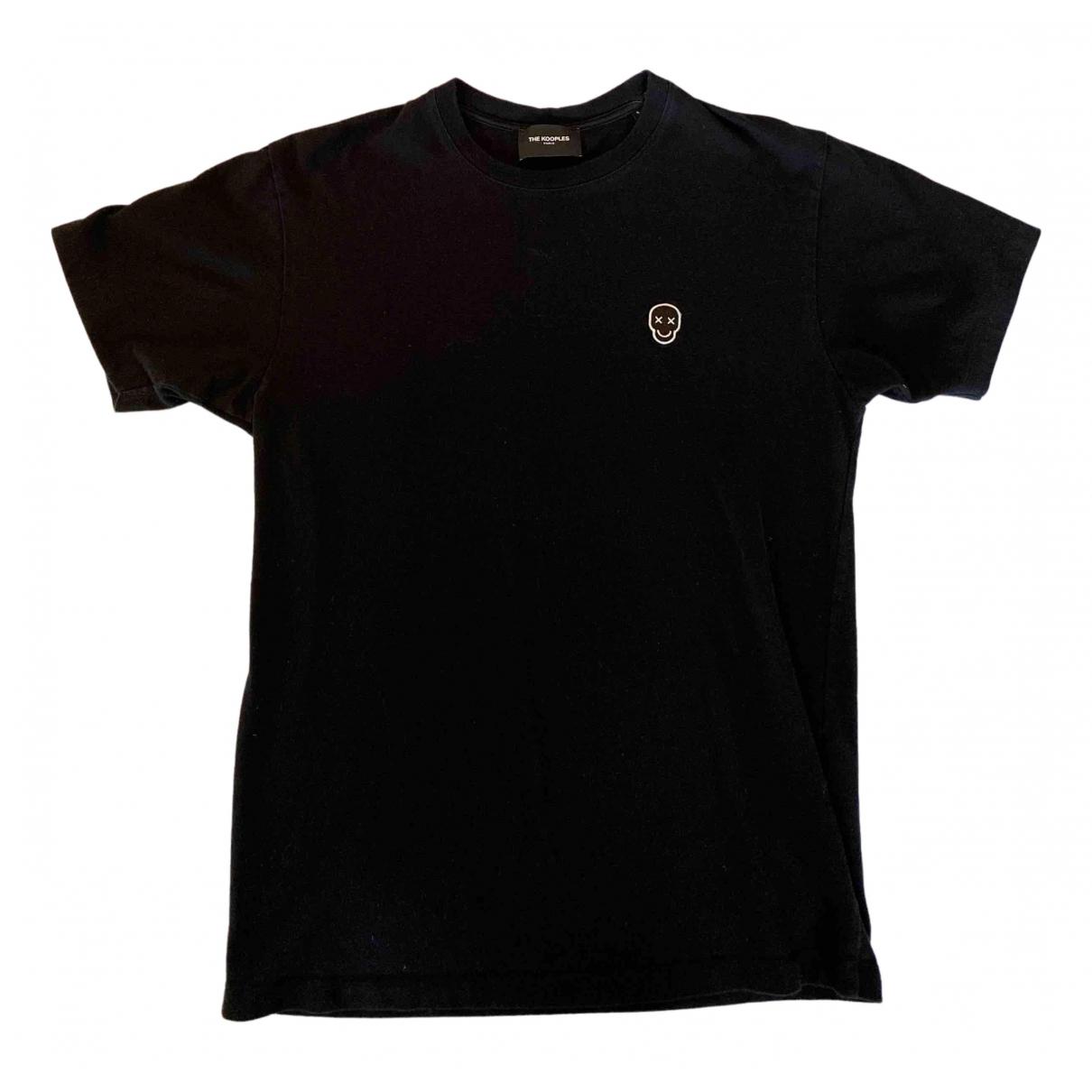The Kooples N Black Cotton T-shirts for Men S International