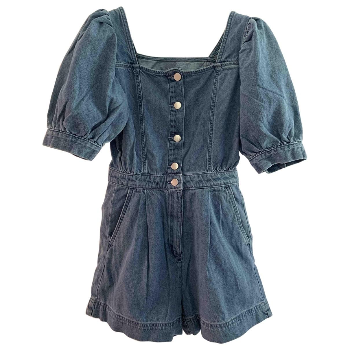 Non Signé / Unsigned \N Blue Denim - Jeans jumpsuit for Women 36 IT