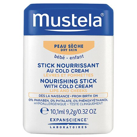 Mustela Nourishing Stick with Cold Cream - 0.32 oz