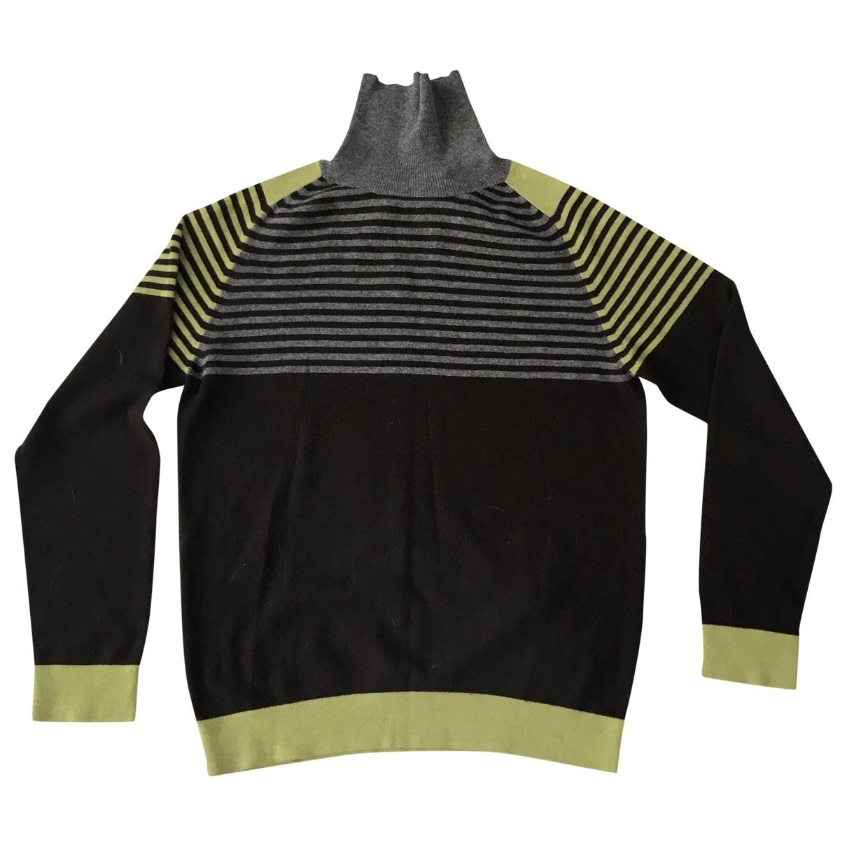 Etro \N Pullover.Westen.Sweatshirts  in  Braun Kaschmir