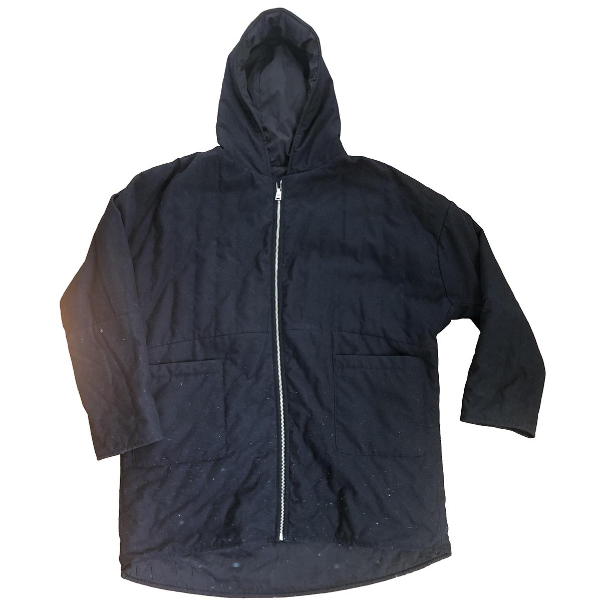 Maje N Black coat for Women One Size FR