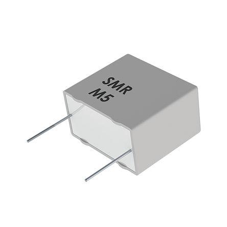 KEMET 22nF Polyphenylene Sulphide Film Capacitor PPS 63 V ac, 100 V dc ±5%, SMR, Through Hole (2000)