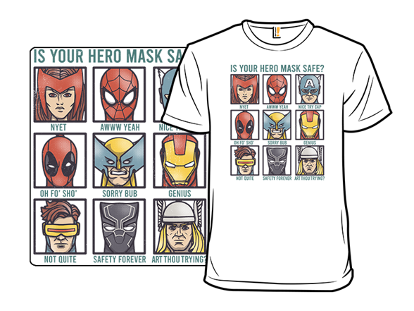 Marvelous Masks T Shirt