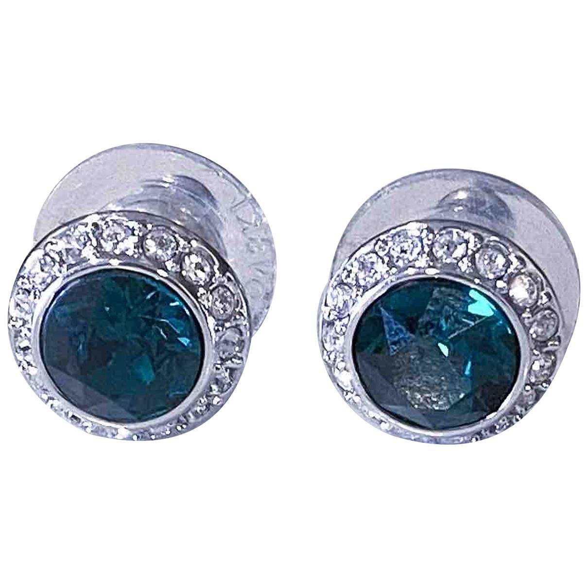 Swarovski - Boucles doreilles   pour femme en cristal - turquoise