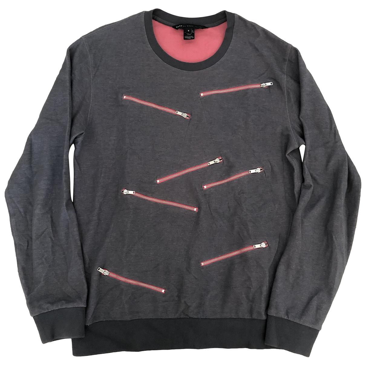 Marc By Marc Jacobs \N Pullover.Westen.Sweatshirts  in  Grau Baumwolle