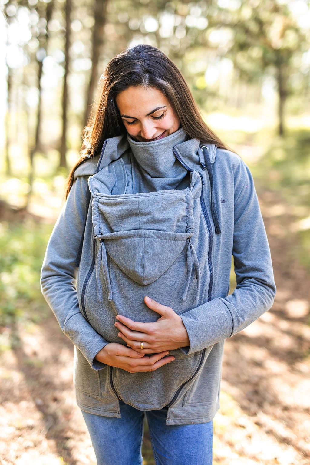 Be Lenka - Licht-grau Jogging Tragejacke xl Tragen eines Sweatshirts mit 2 in 1 Trainingsanzug