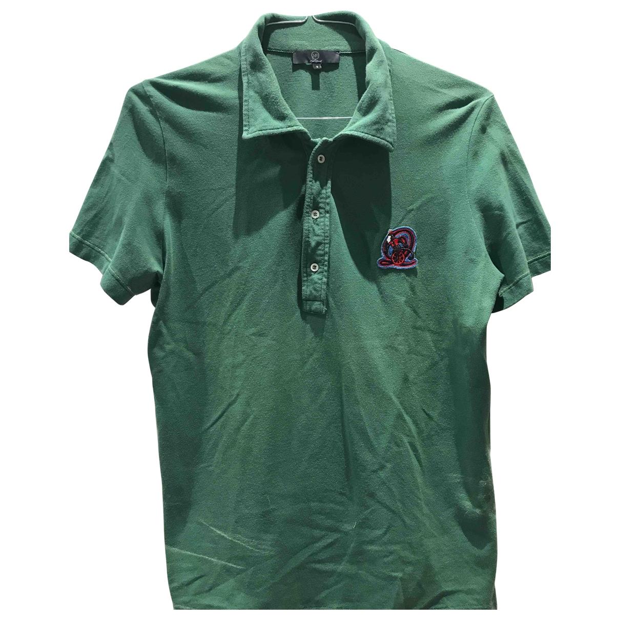 Mcq \N Poloshirts in  Gruen Baumwolle