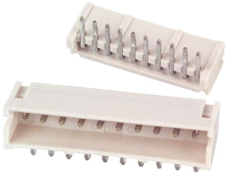 JST , ZH, 10 Way, 1 Row, Side Entry PCB Header (5)