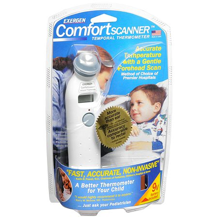 Exergen Comfort Scanner Temporal Thermometer - 1.0 Each