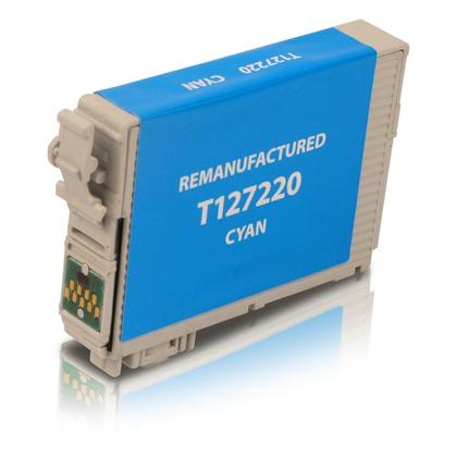 Compatible Epson 127 T127220 cartouche d'encre cyan extra haute capacite - boite-economique
