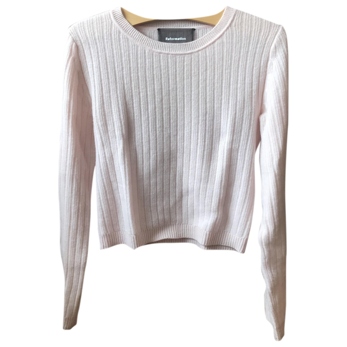 Reformation \N Pink Cashmere Knitwear for Women M International