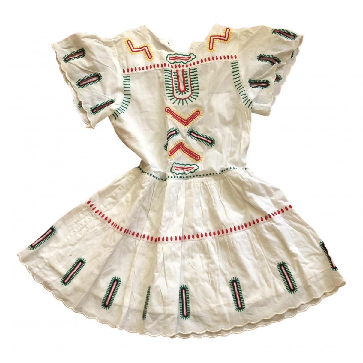 Stella Mccartney Kids - Robe    pour enfant en coton - blanc