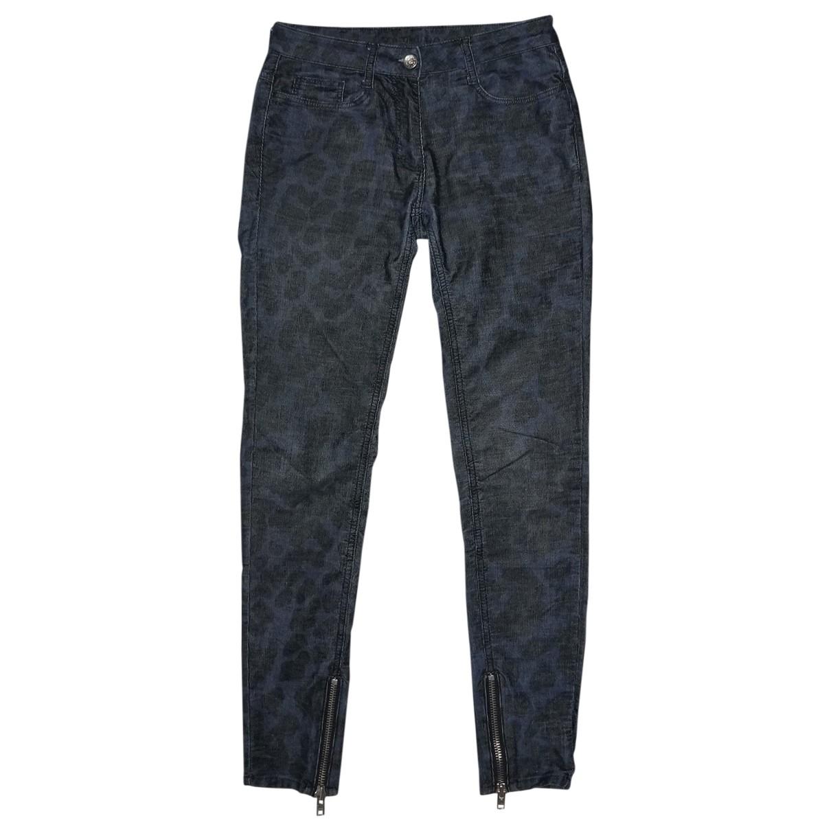 Sandro \N Blue Cotton Jeans for Women 34 FR