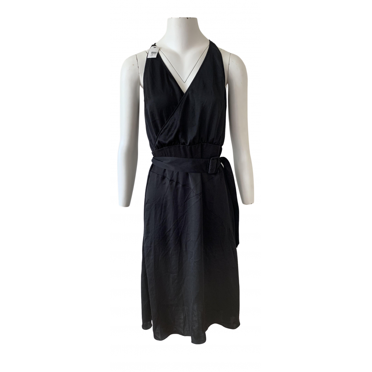 Tomas Maier N Black Silk dress for Women 2 US