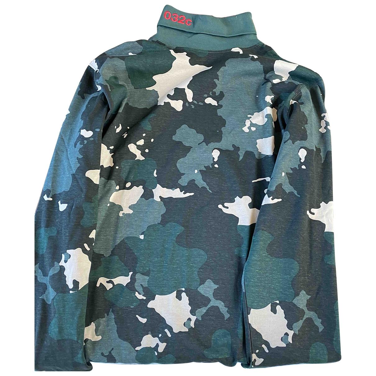 032c \N Pullover.Westen.Sweatshirts  in  Gruen Baumwolle