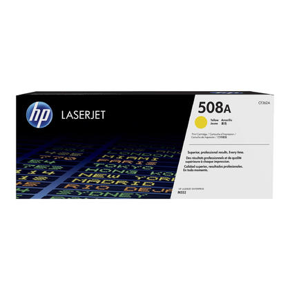HP 508A CF362A Original Yellow Toner Cartridge