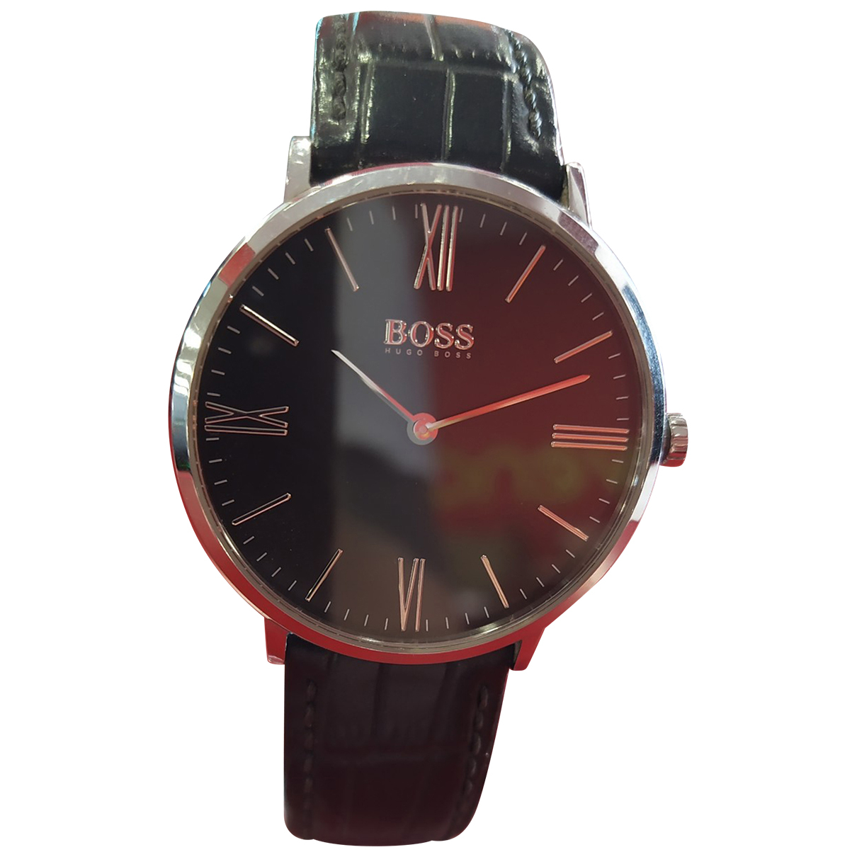 Hugo Boss N Black Steel watch for Men N