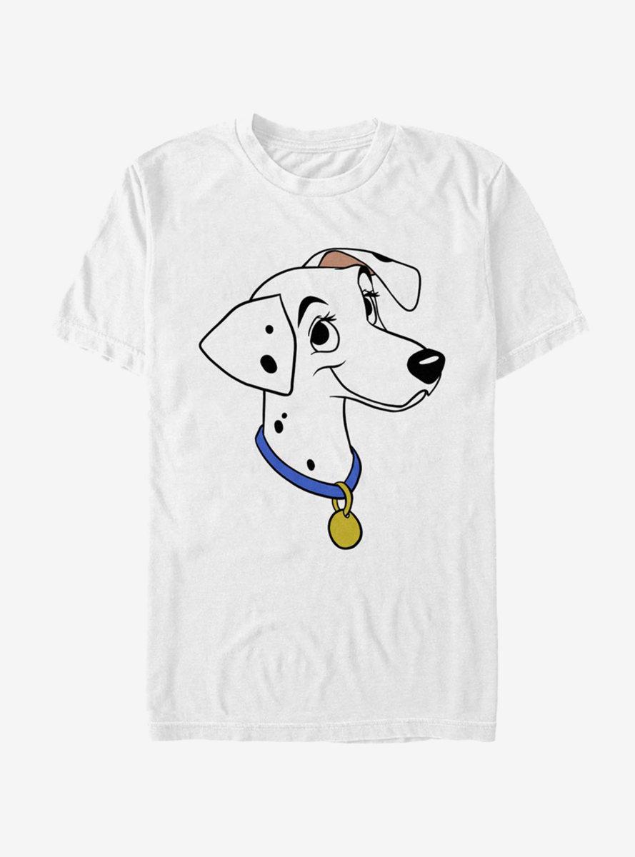 Disney 101 Dalmatians Perdita Big Face T-Shirt