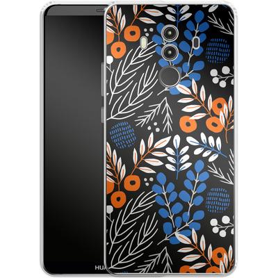 Huawei Mate 10 Pro Silikon Handyhuelle - Forest Floor von Jenna Kunnas