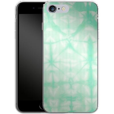 Apple iPhone 6s Plus Silikon Handyhuelle - Tie Dye 2 Mint von Amy Sia