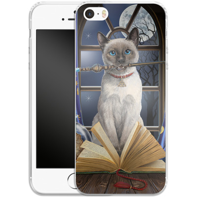 Apple iPhone 5s Silikon Handyhuelle - Hocus Pocus von Lisa Parker
