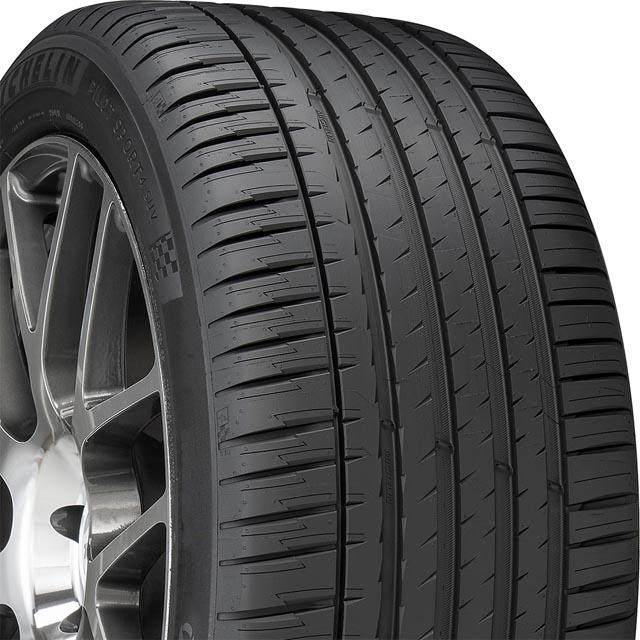 Michelin 95554 Pilot Sport 4 SUV Tire 265/50 R20 107V SL BSW