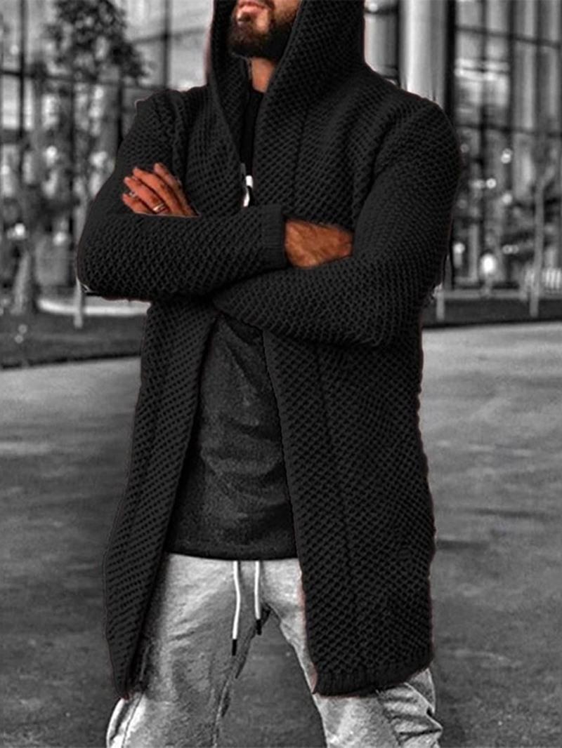 Ericdress Standard Hooded Hole Winter European Sweater