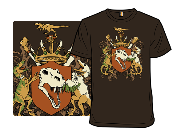 Long Live The Dino King T Shirt