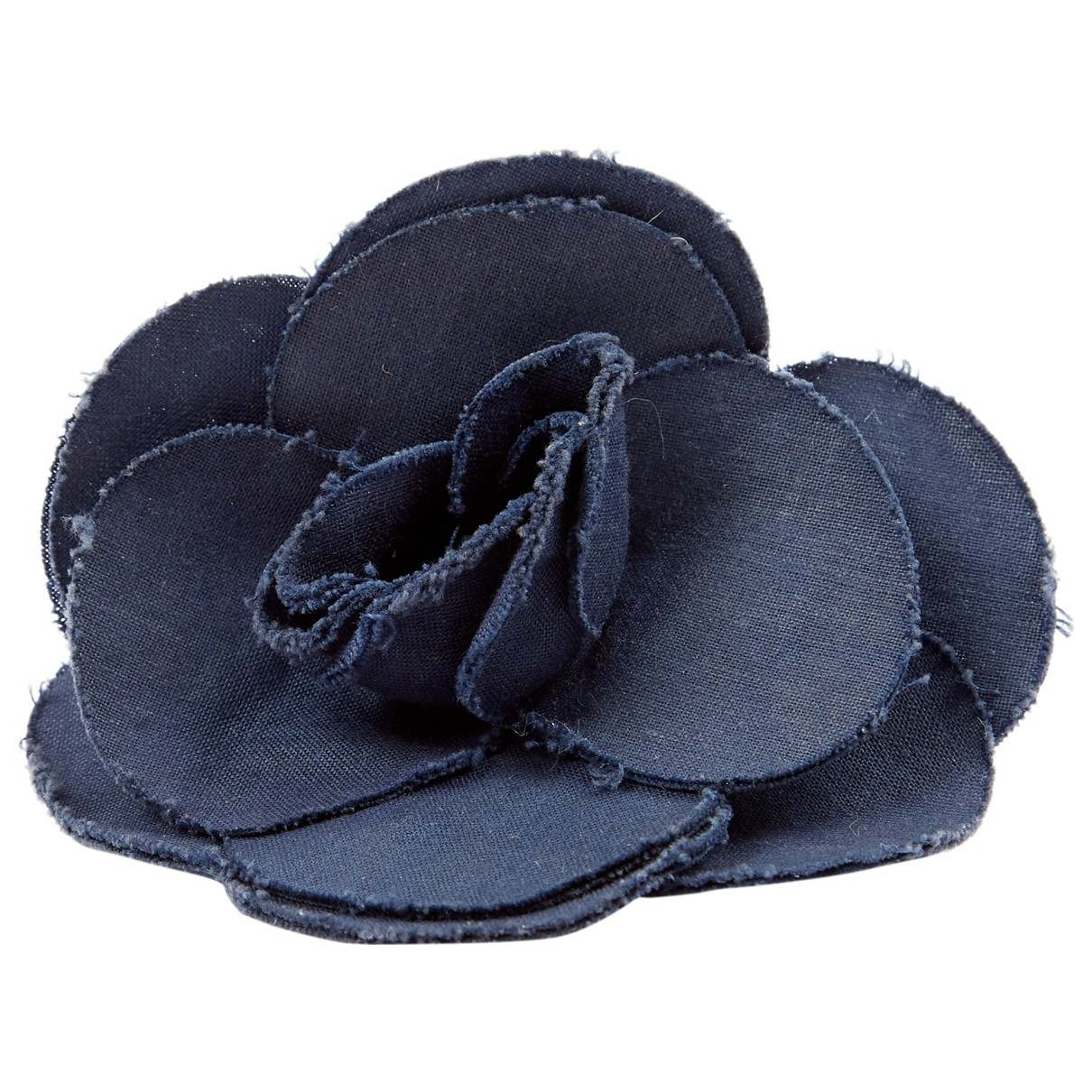 Chanel \N Navy Cloth Pins & brooches for Women \N