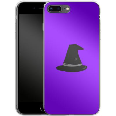 Apple iPhone 7 Plus Silikon Handyhuelle - Witches Hat von caseable Designs