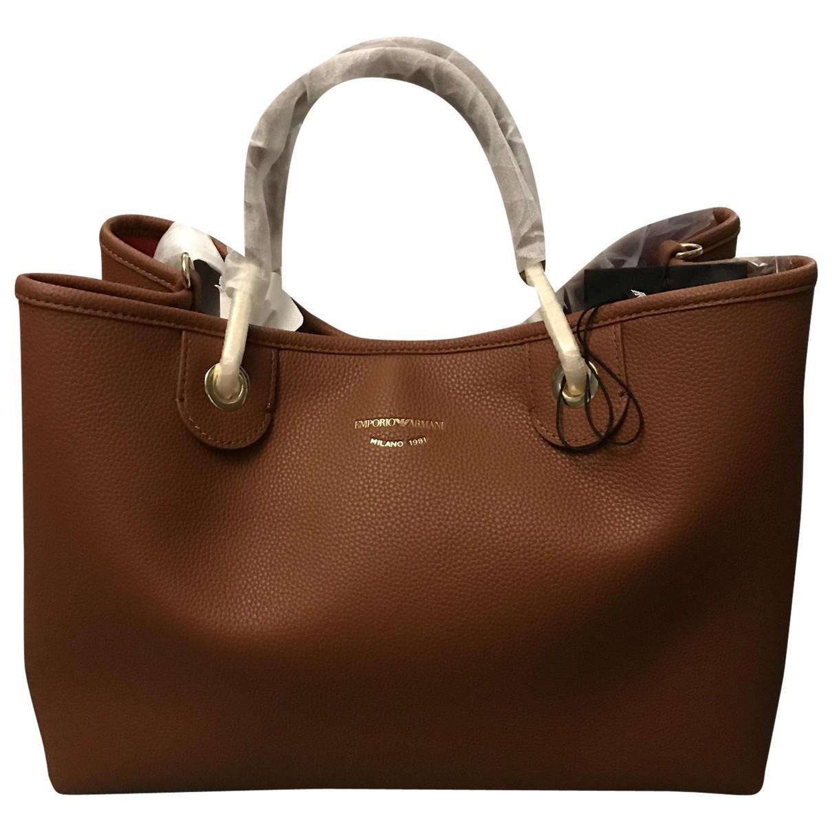Emporio Armani \N Brown handbag for Women \N