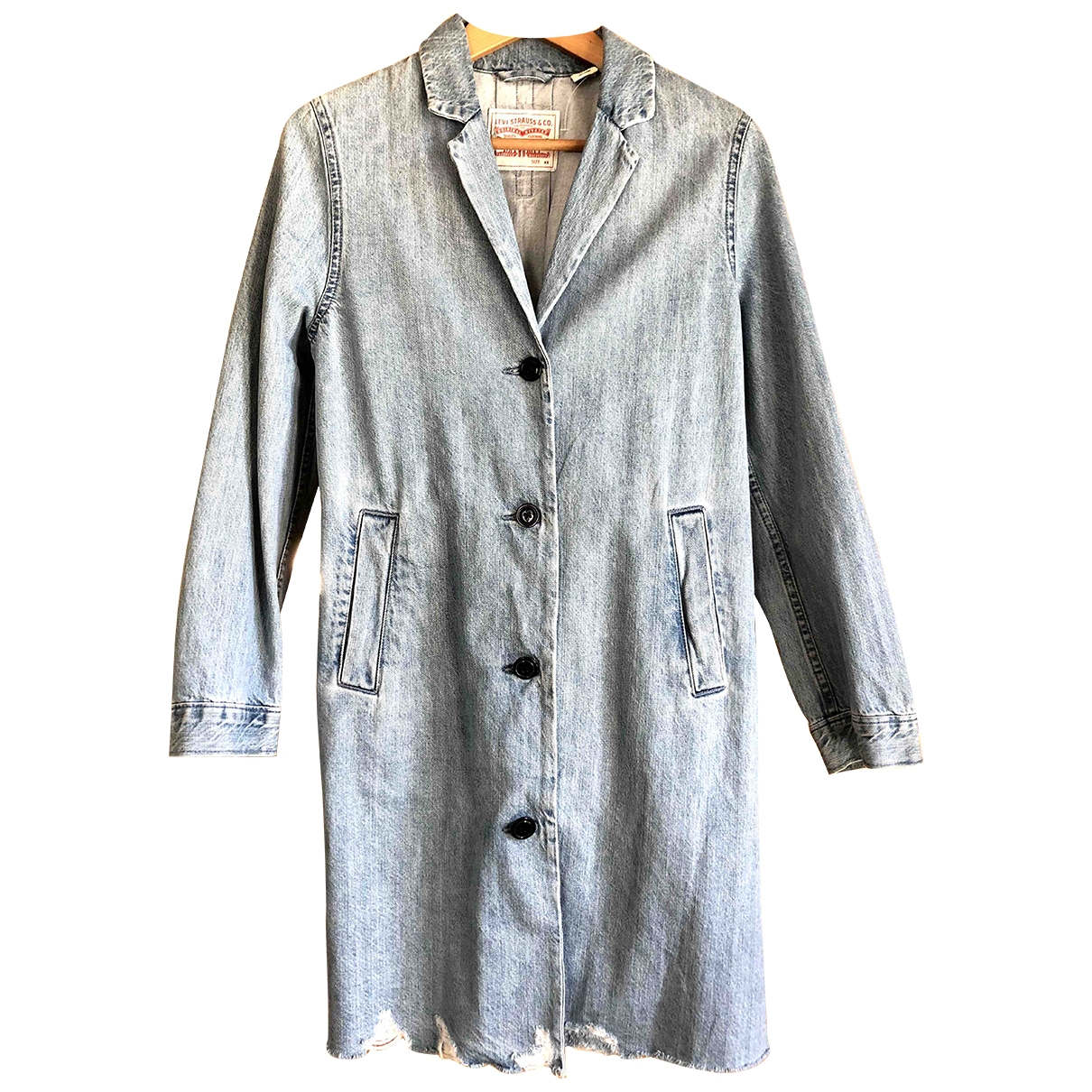 Levi's \N Blue Cotton jacket for Women XS International