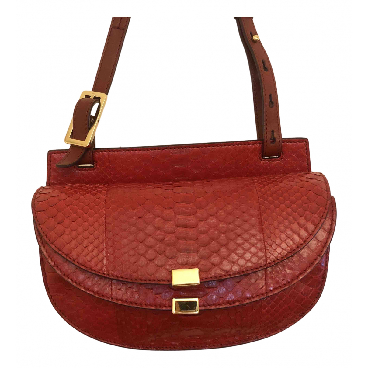 Chloé Georgia Red Python handbag for Women \N