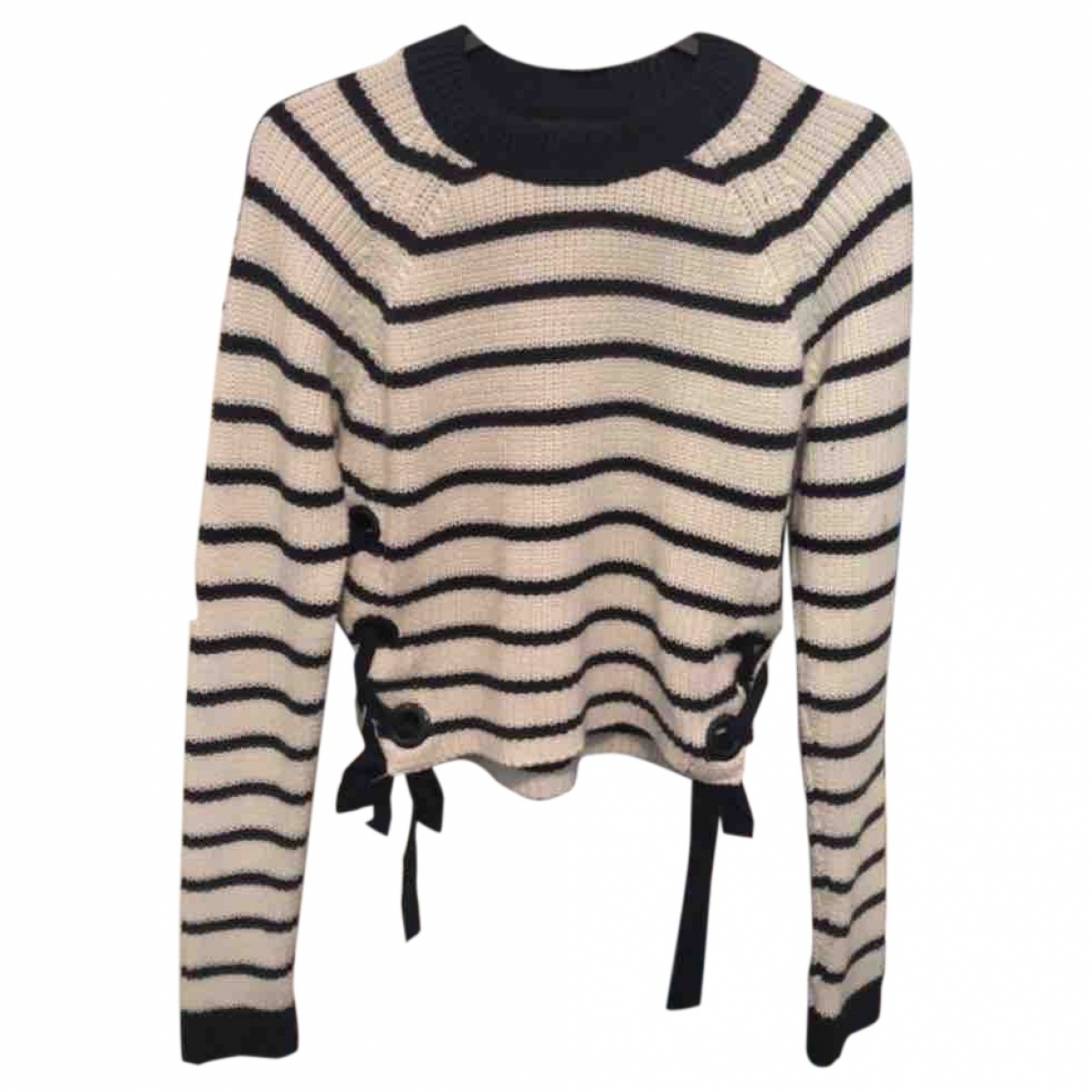 Tophop \N Pullover in  Weiss Baumwolle