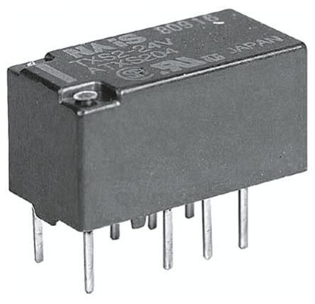 Panasonic DPDT PCB Mount Latching Relay - 1 A, 12V dc For Use In Telecommunications Applications